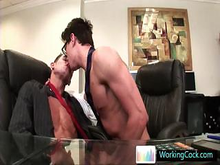 Seth having some homosexual porn pleasure with colleague By WorkingCock part3