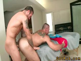 Guy gets wazoo stuffed with toy and pecker part5