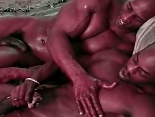 Swarthy Homosexuals Sexually excited Fuck