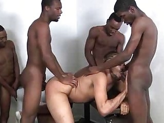 The Exciting Backroom Group sex From Excited Boys