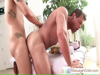 Muscled chap getting his ass fucked hard and deep By Massagevictim
