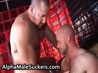 Exceedingly hot gay fellows fucking