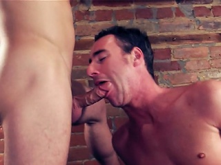 Sam is at it again as this chab breaks in the lovely constricted cocoa-hole off hot...
