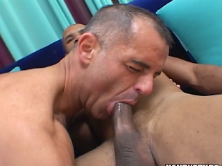 Two sexy jocks engulf on eac others cocks...