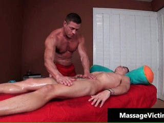 Alec acquires his amazingly cute homosexual ass massaged