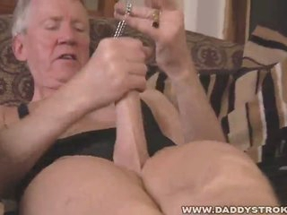 Wicked grandpa solo fetish jerk off