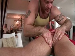 Hunky Guy Receives Anus Rimmed 2 By GotRub