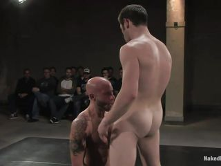 See these 2 bare fellow on the wrestling arena fighting and sexually assaulting every other these are in the fighting rulebook. they are grabbing cocks, fingering gazoo with obedient & grappling fights. And the winner of the fight will acquire the chance to fuck his opponent then and there. So watch!