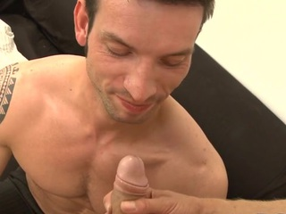Cute stud acquires an indecent anal drilling from slutty hunk